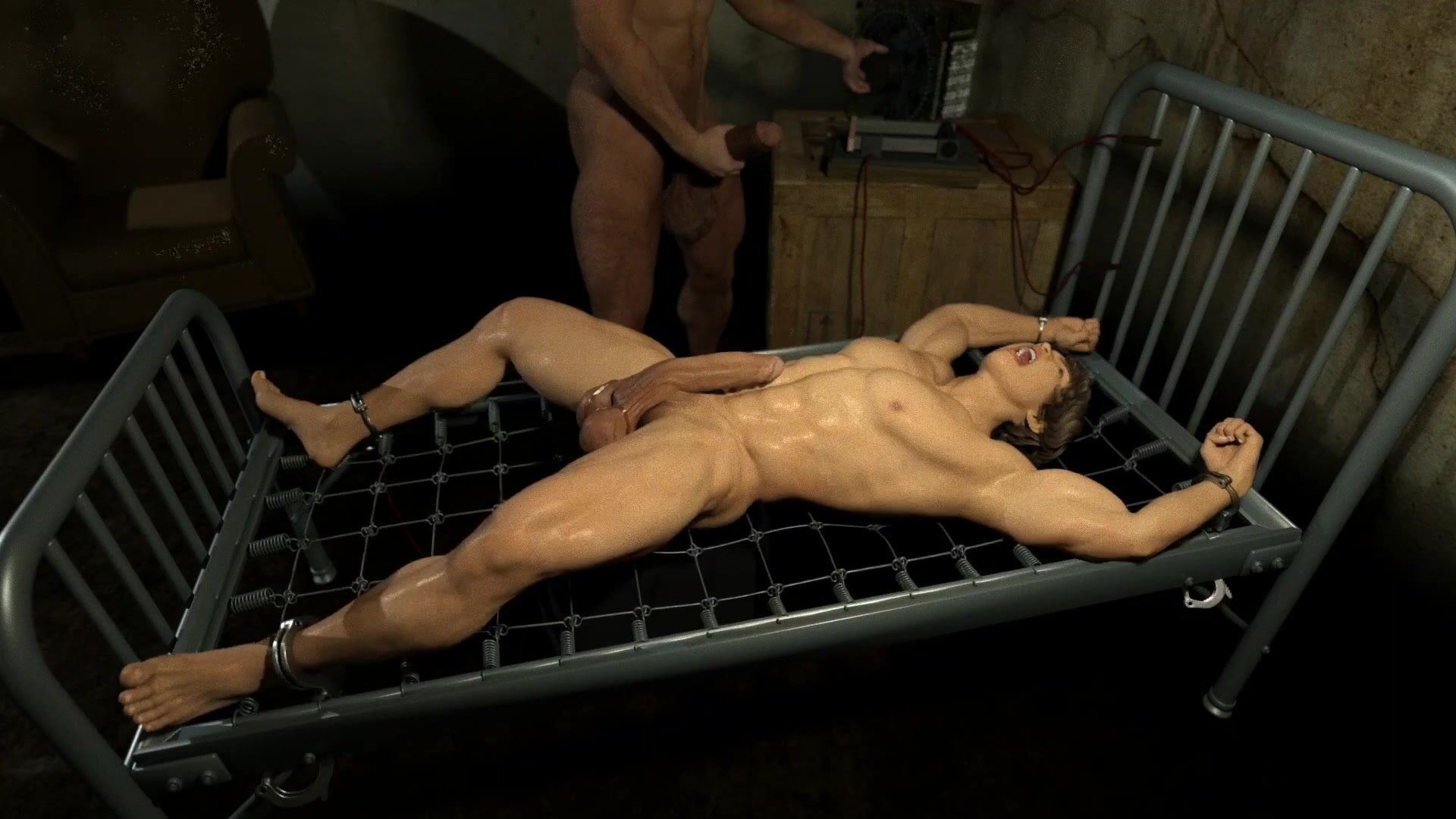 Gay electro torture