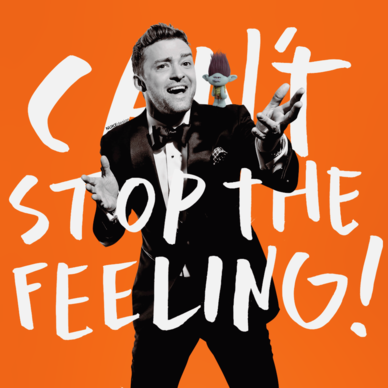 Justin timberlake can t stop the feeling