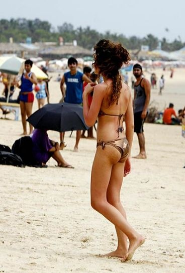 Nude beach party pics indian